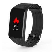 K1 Fitness Tracker Smart-Armband Heart Rate Monitor Wasserdichte Smart Watch Activity Tracker Schlaf-Armbanduhr für iPhone und Android Phone Watch