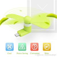 I più venduti Mini Micro USB Fan Cool Cellulare USB Fan Portatile Cooler Ventola di raffreddamento Cellulare Per tipo-c micro USB iPhone x