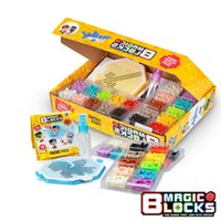 Water magic Pixel beads Toy model building kit Particles Blo...