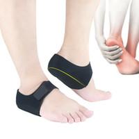 Alivio Soporte Nueva Dolor en el Pie Arco Pies de los apoyos del talón Protección calcetines anti cuidado de los pies agrietados Perro está Liners