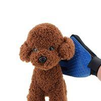 Домашнее животное Мягкий силиконовый собака кисти Перчатки уход щетка для собак резиновая перчатка для груминга кошек ванна Кэт чистящие зоотоваров перчатка кошка Комбс