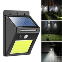 48 LED Waterproof Outdoor Wall LED Solar Night Light PIR Mot...