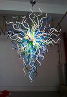 Lujo contemporánea de vidrio soplado Lámpara de LED Home Living Art Decoración de ahorro de energía Fuente de luz de la lámpara del estilo de Chihuly