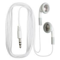 الأبيض أرخص المتاح سماعات earset ياربود للحافلة أو القطار أو الطائرة / هدية ل متحف الحفل للمدرسة سعر المصنع بالجملة
