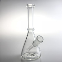 New 6 Inch 14mm Female Glass Recycler Bongs Straight Mini Oi...