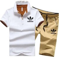 Tracksuit Man Sets Pants Summer New Men' s Cropped T Shi...