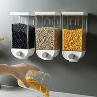 1000ml 1500ml Home Cereal Bean Rice Container Grain Storage ...