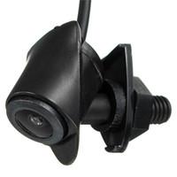 Freeshipping Lentille de caméra CCD vue de face de voiture réel étanche 170 Logo de degré large intégré pour la vision nocturne de Toyota