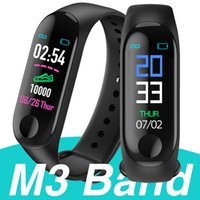 M3 Smart Band Bracelet Heart Rate monitor Activity Fitness T...