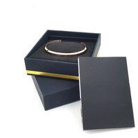 Любовь C браслеты манжеты с оригинальной коробке розовое золото серебро браслет все Браслет из нержавеющей стали женщин и мужчин браслет комплект ювелирных изделий