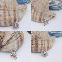 Gorąca Sprzedaż Miłość Pearl Klatki Wisiorki Naszyjnik Otwieranie Małe Kołki żółwie Dolphin Butterfly Charms Naszyjniki Dla Kobiet Moda Biżuteria