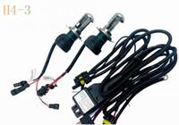 35W H4-3 비스 크세논 HID 전구 HID 램프 자동차 헤드 라이트 전구 교체 6000K 높은 낮은 빔
