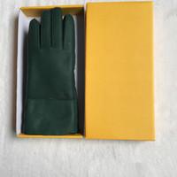 Fashion- Gants en cuir Casual Gants thermiques Gants en laine de femmes dans une variété de couleurs - Livraison gratuite