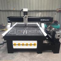 Heißer Verkauf CNC-Router 1325 4-Achsen-Holzbearbeitungs-CNC-Maschinen-Preis Aluminium-Metallfräsmaschine mit Rotary