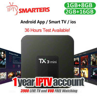 1Year IPTV Subscription Smart 4K Android TV IPTV Box Support...