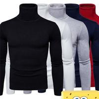 새로운 열 속옷 남성 긴 가을 겨울 터틀넥 T 셔츠 두꺼운 따뜻한 플러스 사이즈 로파 TERMICA 남성 겨울 스타킹 속옷