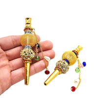 High Quality Handmade Smoking Pipe Alloy Hookah Mouthpiece C...