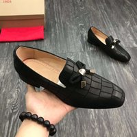 2019 new The latest style of flat casual shoes dress shoes C...
