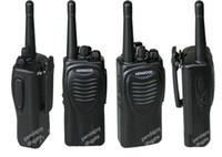Toptan Kenwood TK-2207 Walkie Talkie VHF 136MHz-174MHz 16 RF Kanal 5Watt Taşınabilir İki yönlü Radyo Radyo Frekansı Makinası