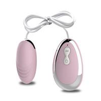 A distanza di 20 Velocità potente vibrazione dell'uovo Erotic Sex Toy controllo vibrazione Pallottola del silicone della sfera di massaggio Clitori stimolatore per le donne