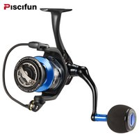 Spartan salata Spinning Reel Full Metal 20KG body drag barche Mulinello con 13BBs 6.2: 1 Gear Ratio