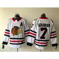5d94baeae61 Großhandel Herren Chicago Blackhawks Brent Seabrook Heim Auswärts Rot Weiß  Eishockey Trikot Alle Spieler Der Von Jerseyplant, $30.46 Auf De.Dhgate.