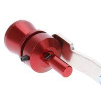 Novità S M L XL Car Turbo Sound Whistle Silenziatore tubo di scarico simulatore Whistler per veicoli