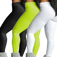 9 цвет S-XL мода женские задницы лифт йога брюки бедро нажавят легинги фитнес тренировки
