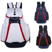 Новая национальная команда рюкзак олимпийская мода мужские женские дизайнерские сумки подростка черный белый синий спорт открытый баскетбол пакеты 3 цвета