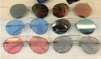 GM Z-1 Uomo Donna Occhiali da sole Moda Occhiali da sole ovali Protezione UV Lenti Lenti a specchio Lenti a specchio Cornice cromata