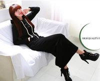 Moda-n del otoño de las mujeres de invierno Negro Gris suéter vestido de esquilado sudaderas con capucha Manga larga delgada Maxi vestidos S M L XL XXL vestido de invierno M176