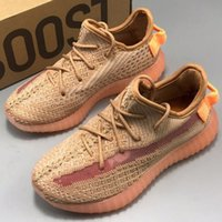 New Kids Shoes Clay 350 v2 Running Shoes Children Athletic O...