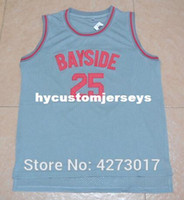3b50d126048 New Arrival. men s Bell Movie Jerseys Saved By Zack Morris 25  Bayside ...