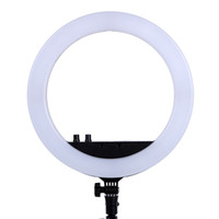 13 Zoll Foto Studio Beleuchtung LED Ring Licht 336PCS LED Birnen 3200-5600k Fotografie Dimmable Ring Lampe für Video, Make-up