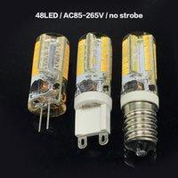 BRELONG 48 개의 LED (28 개)의 LED 2835 SMD 스트로보 실리콘 램프 G9 / G4 / E14 / AC85-265V 실내 크리스탈 샹들리에