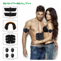 Hip Trainer Abdominal machine electric muscle stimulator ABS...