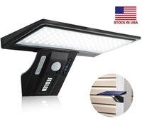US 주식 + 90 LED 태양 광 3 모드 방수 IP65 LED 태양 램프 PIR 모션 센서 LED 가든 가벼운 야외 경로 벽 빛