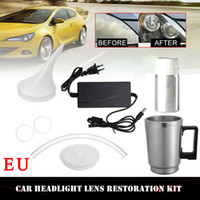 Car Headlight Lens Repair Restore Tool Repair Refurbishment ...