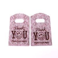 مزيج اللون الأكثر مبيعا 500 قطعة / الوحدة 10 ألوان شعبية أكياس التسوق قابلة لإعادة الاستخدام النساء طوي حمل حقيبة قماش محمول