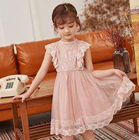 0600e1ed8ba 2019 Formal Big Girls Flower Dresses Bridesmaid Costume Children ...