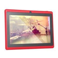 30 stücke 7 Zoll Tablet PC Q88 Tabletten Android Wifi Allwinner A33 Quad Kern 512m 8 GB 1024 * 600 HD Dual Camera 3G 2800mAh Kinder lernen