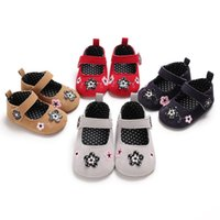 Spring and Autumn 0- 1 female baby princess shoes soft bottom...