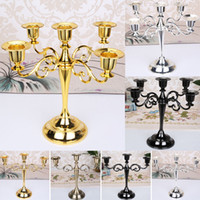 New Metal Candle Holders For 5- arms 3- arms Candle Stand Cand...