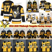 Pittsburgh Penguins Jersey 2019 Stadium Series 87 Sidney Crosby 71 Evgeni Malkin 58 Kris Letang 59 Jake Guentzel Hockey Jerseys
