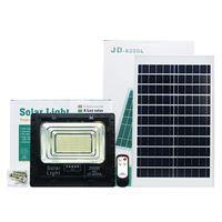 Edison2011 alta qualidade LED de 200W Solar Outdoor Jardim lâmpadas portáteis Flood Solar luzes de rua de segurança Luzes Lâmpadas com indicador de bateria