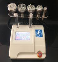 Profissional 5 EM 1 Cavitação Ultra-sônica RF Vacuum RF Cavitação Freqüência Multipolar RF Emagrecimento Máquina Para Face e Corpo