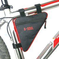 Nouveau kit de triangle de vélo de montagne cycliste sac selle supérieure accessoires d'équipement de bicyclette faisceau de tubes vélo