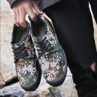 Venda quente-All Season Botas Do Exército Para O Homem Sapatos de Lona Dos Homens Camuflagem Sapatos de Segurança Militar Tático Botas de Deserto Dos Homens Sapatos Da Selva