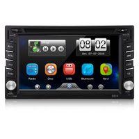 "VETOMILE Double 2 DIN HD 6.2 ""شاشة تعمل باللمس سيارة دي في دي لاعب GPS Sat Nav راديو ستريو"