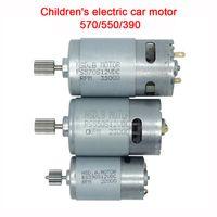 Motor de coche eléctrico de juguete para niños, motor de 12V DC 550 390 para niños Ride on Cart, motor para el vehículo eléctrico del niño 570 35000rpm Motor